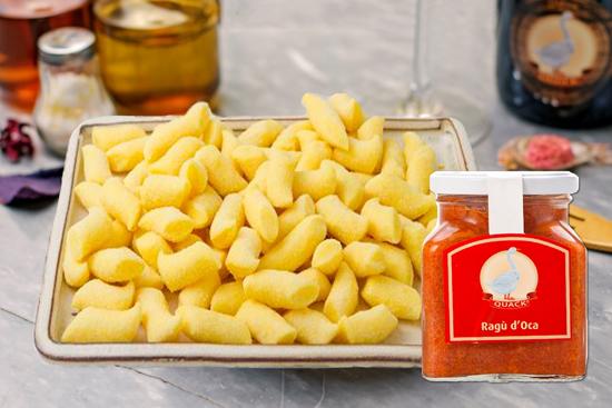 Immagine di Kit gnocchetti di patate al ragù d'oca